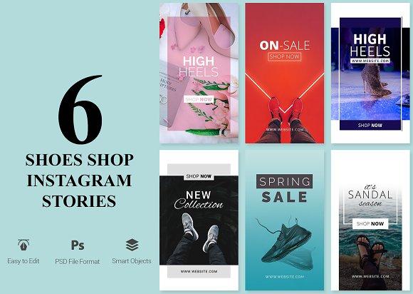 Shoes Shop Instagram Stories