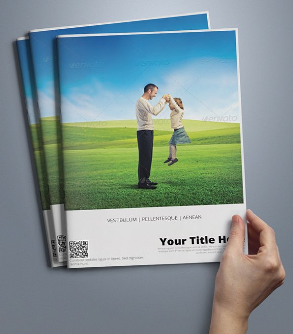 A Brochure Template Brochure Templates Creative Market - Sales brochure template