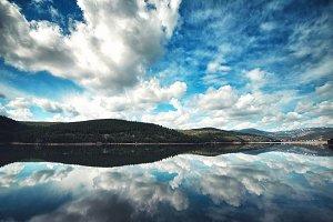 Mountain Lake Reflections