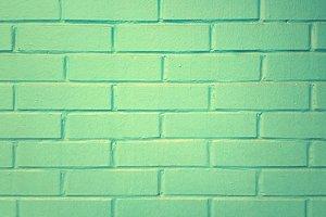 Green olive grunge brick wall texture background