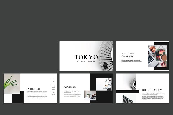 Tokyo Keynote Template  in Keynote Templates - product preview 1