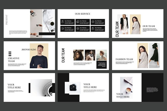Tokyo Keynote Template  in Keynote Templates - product preview 3