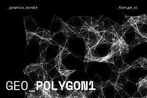 GEO_POLYGON1 Vector Pack