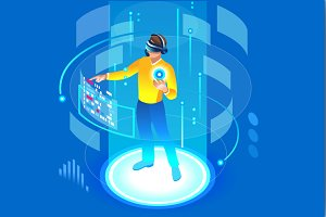 Virtual Reality - Man of the Future