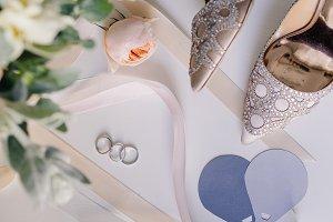 white, background, beautiful, weddin