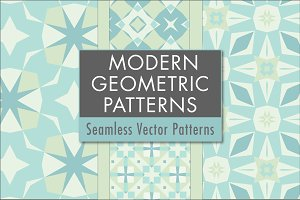 Modern Geometric Patterns: Tropical
