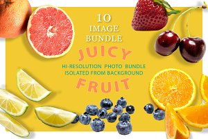 Juicy Fruit 10 Photo Bundle