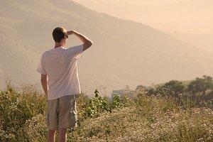 Gazing into the Sunset (Photo)