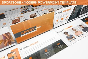 Sportzone - Powerpoint Template