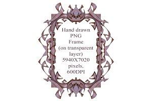 PNG fantasy frame