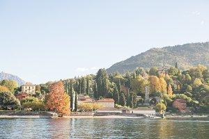 Como Lake, Italy.
