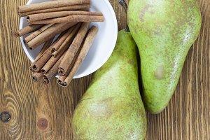 mature green pear