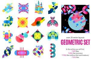 Sale! Geometric Patterns Set