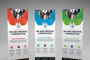 Corporate Roll Up X Banner