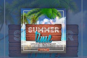 Summer Time Instagram Banner