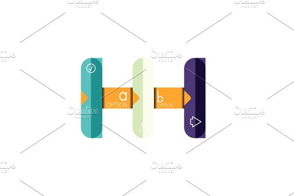 Abstract lines geometric infographic layoutAbstract lines geometric infographic layout, data visualization design, option step by step schedule, web box