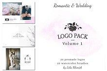 Logo Pack Vol.1. Romantic & Wedding