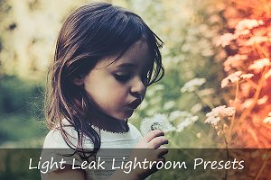 46 Light Leak Lightroom Presets