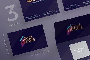 Business Cards | Fitness Gym