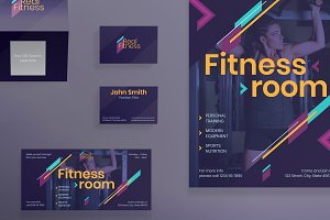Print Pack | Fitness Gym