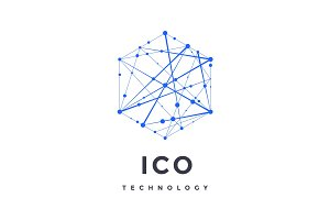 Logo for blockchain technology