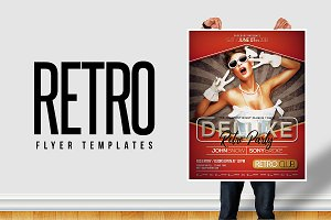 Retro Flyer Templates
