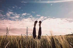 Feet in the Air