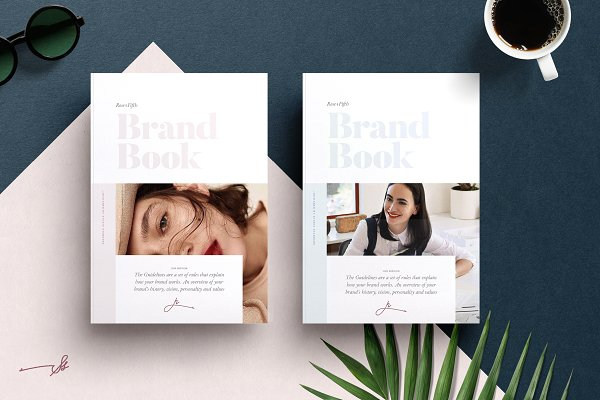Brochure Templates: Studio Standard - ROSE — Brand Guidelines