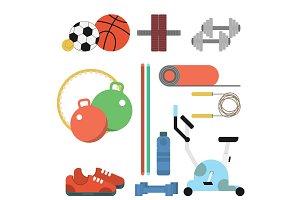 Fitness Sport Flat Set
