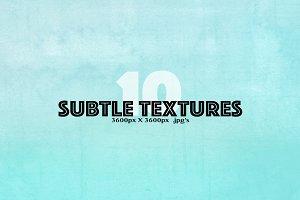 10 Subtle Textures