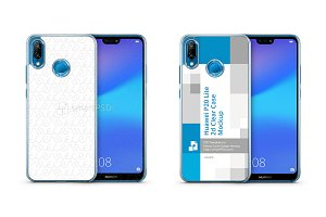 Huawei P20 Lite 2d PC Clear Case