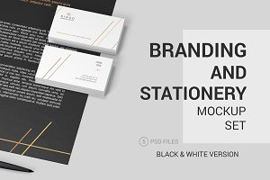 Stationery Branding Mockup Set #1