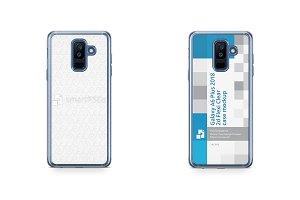Galaxy A6 Plus 2d Flexi Clear Case