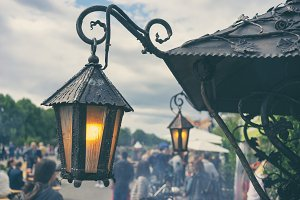 Vintage Lights at the Summer Fair