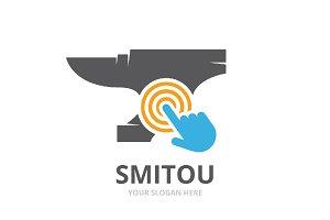 Vector smith and click logo