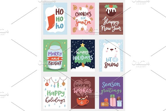 christmas party invintation vector card design template for noel xmas holiday celebration clipart new year santa