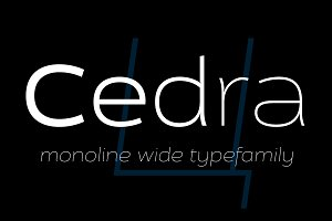 Cedra 4F Wide (Family)