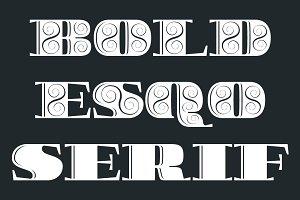 Boldesqo Serif 4F (Family)