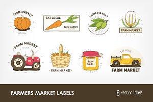 Farm or agricultural market logo