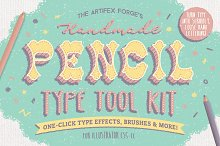 The Hand-drawn Pencil Type Tool Kit by  in Layer Styles
