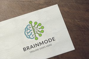 Brain Mode Logo
