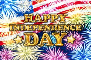 4 july Happy independence day USA