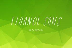 Ethanol Tall Sans Font