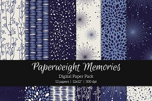 Patterned Paper - Stormy Night