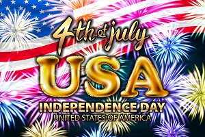 USA Happy independence day 4 july