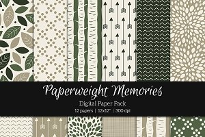 Patterned Paper - Woodland Dream
