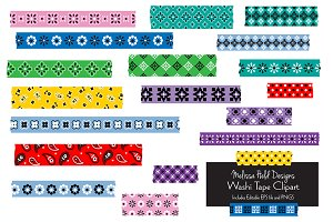 Bandana Washi Tape Clipart