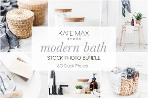 Modern Bath Stock Photo Bundle