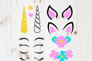 Unicorn Set Svg, Unicorn Creator