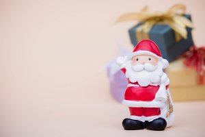 santa claus doll christmas